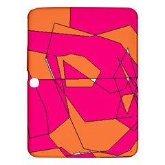 Red Orange 5000 Samsung Galaxy Tab 3 (10 1 ) P5200 Hardshell Case  by yoursparklingshop
