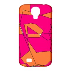 Red Orange 5000 Samsung Galaxy S4 Classic Hardshell Case (pc+silicone)