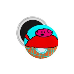 Sweet Pig Knoremans, Art By Kids 1 75  Button Magnet by yoursparklingshop