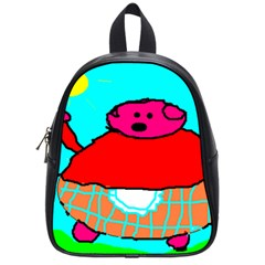 Sweet Pig Knoremans, Art By Kids School Bag (small) by yoursparklingshop
