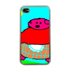 Sweet Pig Knoremans, Art By Kids Apple Iphone 4 Case (clear)
