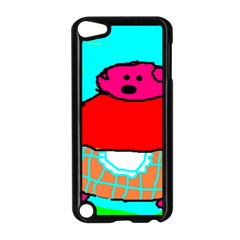 Sweet Pig Knoremans, Art By Kids Apple Ipod Touch 5 Case (black) by yoursparklingshop