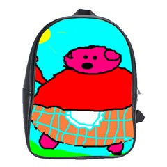 Sweet Pig Knoremans, Art By Kids School Bag (xl) by yoursparklingshop