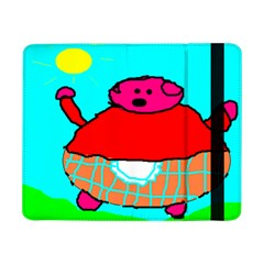 Sweet Pig Knoremans, Art By Kids Samsung Galaxy Tab Pro 8 4  Flip Case by yoursparklingshop