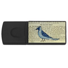 Bird 4gb Usb Flash Drive (rectangle) by boho