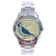 Bird Stainless Steel Watch by boho