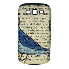 Bird Samsung Galaxy S Iii Classic Hardshell Case (pc+silicone) by boho