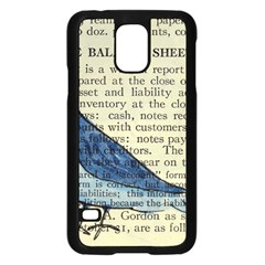 Bird Samsung Galaxy S5 Case (black) by boho