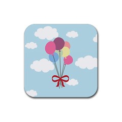 Balloons Drink Coaster (square) by Kathrinlegg