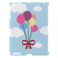 Balloons Apple Ipad 3/4 Hardshell Case (compatible With Smart Cover) by Kathrinlegg