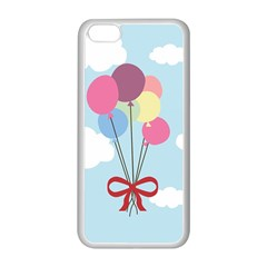 Balloons Apple Iphone 5c Seamless Case (white)