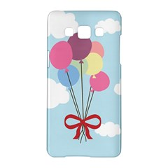 Balloons Samsung Galaxy A5 Hardshell Case  by Kathrinlegg
