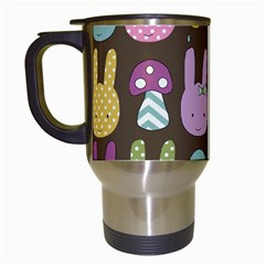 Bunny  Travel Mug (white) by Kathrinlegg
