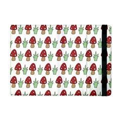 Mushrooms Apple Ipad Mini Flip Case by Kathrinlegg