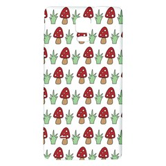 Mushrooms Samsung Note 4 Hardshell Back Case by Kathrinlegg