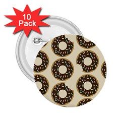 Donuts 2 25  Button (10 Pack)