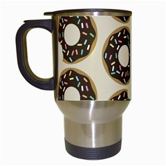Donuts Travel Mug (white) by Kathrinlegg