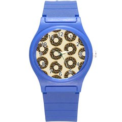 Donuts Plastic Sport Watch (small) by Kathrinlegg