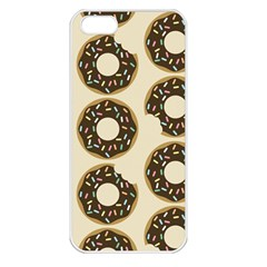 Donuts Apple Iphone 5 Seamless Case (white) by Kathrinlegg