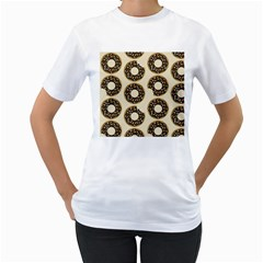 Donuts Women s T-shirt (white)