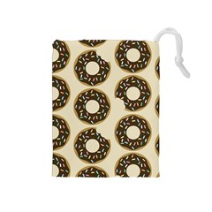Donuts Drawstring Pouch (medium) by Kathrinlegg