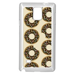 Donuts Samsung Galaxy Note 4 Case (white) by Kathrinlegg