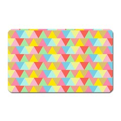 Triangle Pattern Magnet (rectangular)