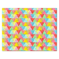 Triangle Pattern Jigsaw Puzzle (rectangle) by Kathrinlegg
