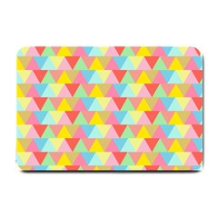 Triangle Pattern Small Door Mat by Kathrinlegg