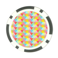 Triangle Pattern Poker Chip (10 Pack) by Kathrinlegg