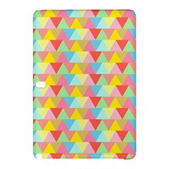 Triangle Pattern Samsung Galaxy Tab Pro 12 2 Hardshell Case by Kathrinlegg