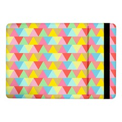 Triangle Pattern Samsung Galaxy Tab Pro 10 1  Flip Case by Kathrinlegg