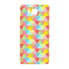Triangle Pattern Samsung Galaxy Alpha Hardshell Back Case by Kathrinlegg
