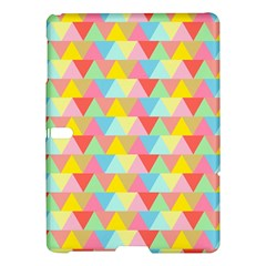 Triangle Pattern Samsung Galaxy Tab S (10 5 ) Hardshell Case