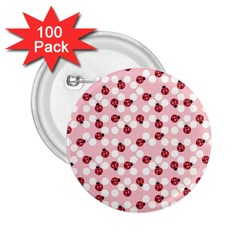 Spot The Ladybug 2 25  Button (100 Pack) by Kathrinlegg