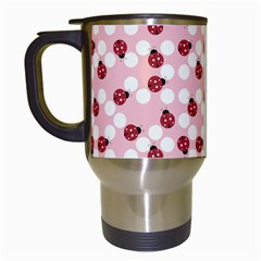 Spot The Ladybug Travel Mug (white) by Kathrinlegg