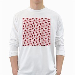 Spot The Ladybug Men s Long Sleeve T Shirt (white) by Kathrinlegg
