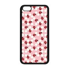 Spot The Ladybug Apple Iphone 5c Seamless Case (black)