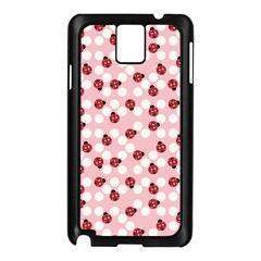 Spot The Ladybug Samsung Galaxy Note 3 N9005 Case (black) by Kathrinlegg