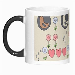 Love Birds Morph Mug by Kathrinlegg