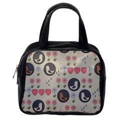 Love Birds Classic Handbag (one Side)