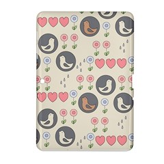 Love Birds Samsung Galaxy Tab 2 (10 1 ) P5100 Hardshell Case  by Kathrinlegg