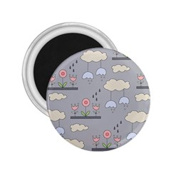 Garden In The Sky 2 25  Button Magnet by Kathrinlegg