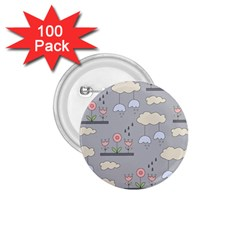 Garden In The Sky 1 75  Button (100 Pack) by Kathrinlegg
