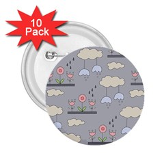 Garden In The Sky 2 25  Button (10 Pack) by Kathrinlegg