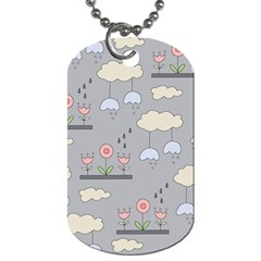 Garden In The Sky Dog Tag (two Sided)  by Kathrinlegg