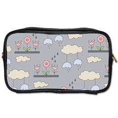 Garden In The Sky Travel Toiletry Bag (two Sides) by Kathrinlegg