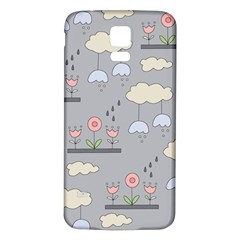 Garden In The Sky Samsung Galaxy S5 Back Case (white) by Kathrinlegg