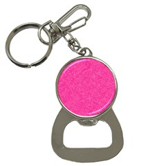 Abstract Stars In Hot Pink Bottle Opener Key Chain by StuffOrSomething
