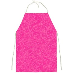Abstract Stars In Hot Pink Apron by StuffOrSomething